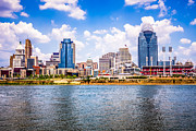 Ballpark Photo Prints - Cincinnati Skyline Photo Print by Paul Velgos
