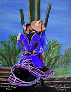 Latin America Paintings - Cinco d Mayo by Jayne Kerr
