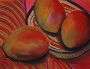 Mango Pastels Metal Prints - Cinco De Mayo Metal Print by Gitta Brewster