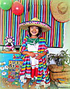 Poncho Framed Prints - Cinco de Mayo  Framed Print by Heidi Manly