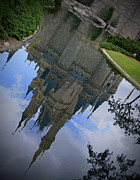 Castle Pyrography Metal Prints - Cinderella Castle - A Moment For Reflection Metal Print by AK Photography