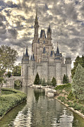 Cinderellas Castle Prints - Cinderellas Castle Print by Robert Jones