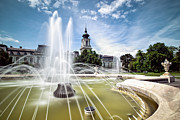 Fountain Framed Prints - Cinderellas home Framed Print by Davorin Mance