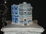 Architecture Ceramics - Cinema and Soda Fountain by Mademoiselle Francais