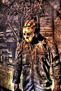 Jason Voorhees Prints - Cinema Genre Icons - Jason Print by Dan Stone