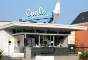 Cone Originals - Circa 1940s Carls Ice Cream by Sharon Blanchard