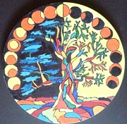 Circle Of Life Print by Swati Panchal