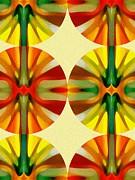 Circle Pattern 3 Print by Amy Vangsgard