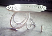 Coffee Table Sculptures - Circle Table by Jason Kuvaja