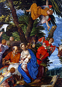 Veronese Art - Circled by Angels by Munir Alawi