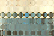 Decorator Series Prints - Circles and Squares 18. Modern Home Decor Art Print by Mark Lawrence