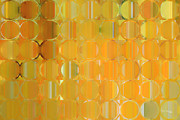 Decorator Series Prints - Circles and Squares 19. Big Painting Modern Abstract Fine Art Print by Mark Lawrence