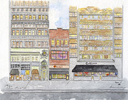 Greenwich Village Paintings - Citerella - Greenwich Village by Lynn Lieberman