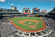 New York Mets Stadium Prints - Citi Field Print by Mark Whitt