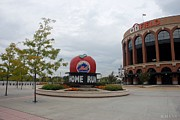 Ballpark Digital Art Framed Prints - Citi Field Framed Print by Rob Hans