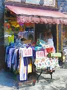 Cities - Discount Dress Shop Hoboken Nj Print by Susan Savad