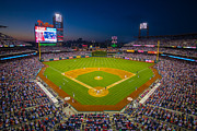 Baseball Field Photo Framed Prints - Citizens Bank Park Philadelphia Phillies Framed Print by Aaron Couture