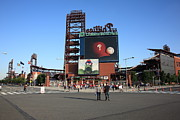 South Philly Prints - Citizens Bank Park - Philadelphia Phillies Print by Frank Romeo