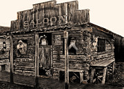 Old Town Digital Art Prints - Citizens Of Dirty Creek Print by Terril Heilman