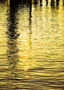 Citrine Ripples Print by Chris Anderson