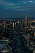 Shadow Photos - City at Dusk by Nadya Ost