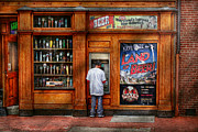 Window Signs Framed Prints - City - Baltimore MD - Explore the land of beer  Framed Print by Mike Savad