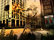 Photomanipulation Originals - City by Denis Stancsuy