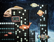 Leah Saulnier The Painting Maniac - City Fish edit 2