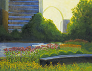 City Garden Prints - City Garden St. Louis Print by Garry McMichael