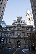 Phila Posters - City Hall from Market Street Poster by Bill Cannon
