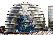 Helical Prints - City Hall London Print by Christi Kraft