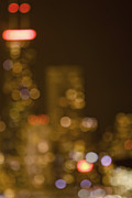 John Hancock Building Prints - City in Bokeh Print by Margie Hurwich