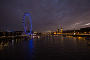 London Skyline Art - City Lights by Dawn OConnor