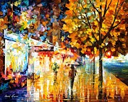 Leonid Afremov - City Movement