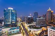 Fototrav Print - CIty Night Skyline Bangkok