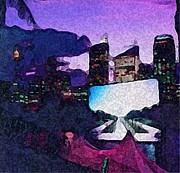City Nights Print by Acesio Amavi