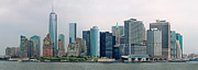 Manhattan Photos - City - NY - The financial district by Mike Savad
