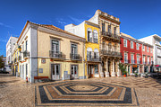 Praia De Faro Prints - City Of Faro Print by Nigel Hamer