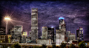 Houston Prints - CIty of Houston Skyline Print by David Morefield