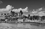 London Art - City of London from Tower Bridge by Gary Eason