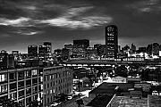 At Night Prints - City of Richmond Virginia Print by Tim Wilson
