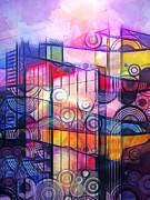 City Patterns 4 Print by Lutz Baar