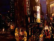 City Rain 2 Print by Mark Moore
