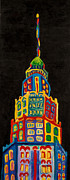 Iconic Paintings - City Rainbow by Tracey Ashenfelter
