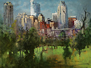 Raleigh Originals - City Set on a Hill by Dan Nelson