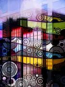 Sounds Digital Art Prints - City Sounds Print by Ann Croon