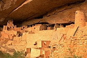Mesa Verde Photos - City Under The Cliff by Adam Jewell