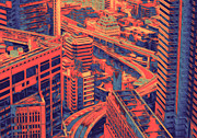Combine Posters - Cityscape 2 Poster by Jack Zulli