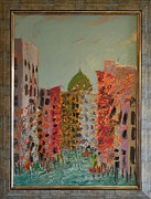 Marco Mixed Media Framed Prints - Cityscape 4 by Ioan Angel Negrean Framed Print by Ioan Angel Negrean