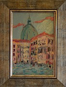 Gondolier Originals - Cityscape 5 by Ioan Angel Negrean by Ioan Angel Negrean
